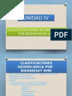 UNIDAD VIII B Clasificaciones Geomecanicas Por BIENIAWSKY RMR
