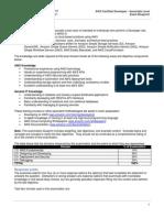 AWS curriculum