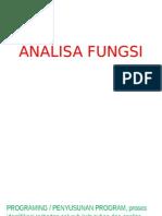 ANALISA FUNGSI