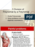 g8l1 5 division of polynomial by a polynomial wq