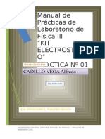 PRACTICA DE LABORATORIO N° 01 FISICA  III - 2012-MODIF