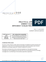 Practical Application for Energy Management and Efficiency in Elecitrcal Equipment (June 2015)