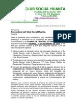 Carta Al Socio Cs-huanta