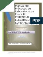 PRACTICA DE LABORATORIO N° 03 FISICA  III - 2012-MODIF