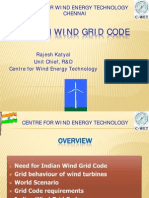 Development of Grid Code for Wind Power Generation in India Powerpoint