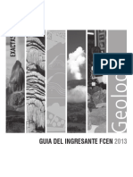 Guía de Ingresantes Geologia 2013