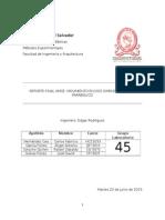 Amce 7 - Reporte Final