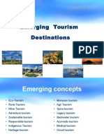 Emerging Concepts in Tourism