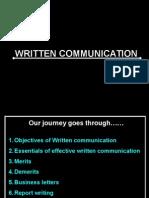 Written Communication - Business Letter & Report Writing