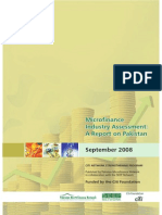 Micro finance Industry Assessment