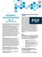 10a Integral Waterproofer No