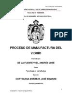 Manufacturado Del Vidrio
