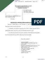 Datatreasury Corporation v. City National Corporation et al - Document No. 12