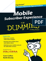 Procera Mobile Subscriber Experience for Dummies