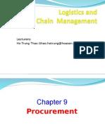 Logistics Chap 09 Procurement HSJ14