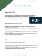 Current Affairs Update - 25 June - 2015 - Exam Pundit