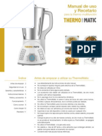 Manual Recetas Thermomatic