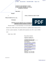 Datatreasury Corporation v. Wells Fargo & Company et al - Document No. 99
