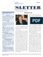 Offshore 2.0 - LAVECO Newsletter 2015/2.