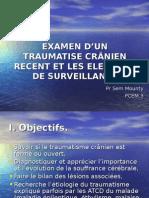 Examen d'Un Traumatise Crânien Recent Et Les Elements