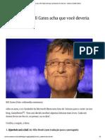 6 Livros Que o Bill Gates Indica Para 2015