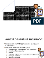 Types of Dispensed Preparations