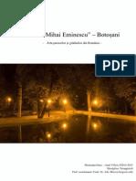 Parcul Mihai Eminescu - Botosani