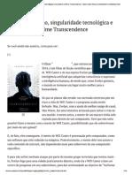 Transhumanismo, Singular..