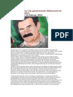 Abdullah Öcalan - Ein gemeinsamer Widerstand ist nun unumgänglich (10.02.2010)