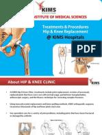 Hip  Knee Replacement Surgery Procedure @ KIMS Hospitals
