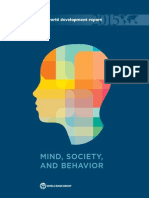 Mind, Society and Behavior - World Bank