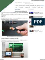 Cách Kết Nối Laptop Với Tivi Qua Cổng HDMI