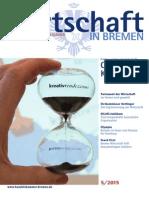Wirtschaft in Bremen 05/2015 - Kultur- und Kreativwirtschaft