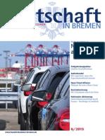 Wirtschaft in Bremen 06/2015 - Studie der IHK Nord