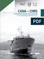 CANA - CNRS, A scientific vessel for Lebanon