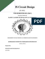 8th Sem Cmos Circuit Lab Manual