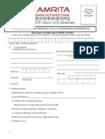 Ph.D Appln.form