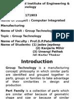 ME CIM 3 Group Technology