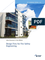 Design Fires for Fire Safety Engineering