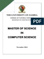 Msc Computer Science Summary Copy