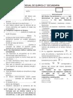 Examen Mensual de Quimica 5to