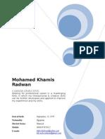 Mohamed Radwan C.v 17-2-2010