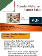 MK Dietetika Standar Makanan Rumah Sakit
