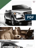 Audi Q7 2009 Misc Documents-Brochure