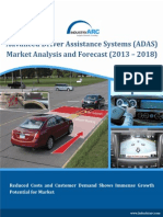 Advanced Driver Assistance Systems market to shoot to a revenue of $165 billion by 2018!-IndustryARC