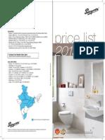 Pricelist May 2015 Sanware (1)