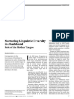 Nurturing Linguistic Diversity in Jharkhand