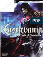 Castlevania Lords of Shadow BradyGames Official Strategy Guide