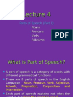 Parts of Speech 1 Student 201505