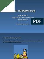 Que Es Un Data Warehouse